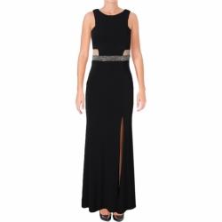 1e0c953244ff Aqua černé sexy společenské šaty na ples