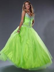 Amiola zelené plesové šaty na maturitní . edfce46665