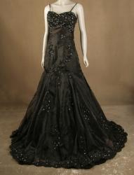 ampirela černé plesové šaty Yvettey d4a13a3863