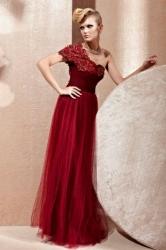 702ce7689468 Code plesové šaty šité na míru červené 1.