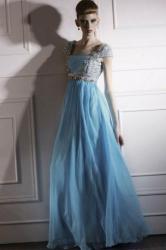 Code plesové šaty šité na míru modré 113. af2e98b41f