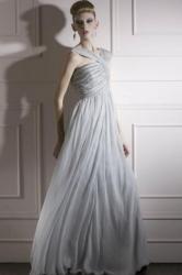 Code plesové šaty šité na míru šedé 1130 ddf34c5907