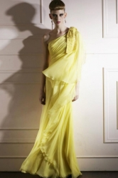 06d3b4c3c9eb Code plesové šaty šité na míru žluté 112.