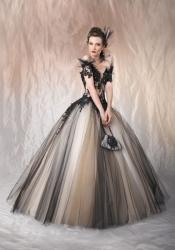7cd4e52bb0c3 Draculia gothic černé plesové šaty