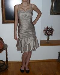 krátké plesové šaty Yvette společenské n. 7a28e83456
