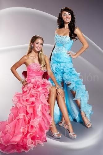 e804cf74c435 Alise tyrkysové a růžové sexy plesové šaty na maturitní ples