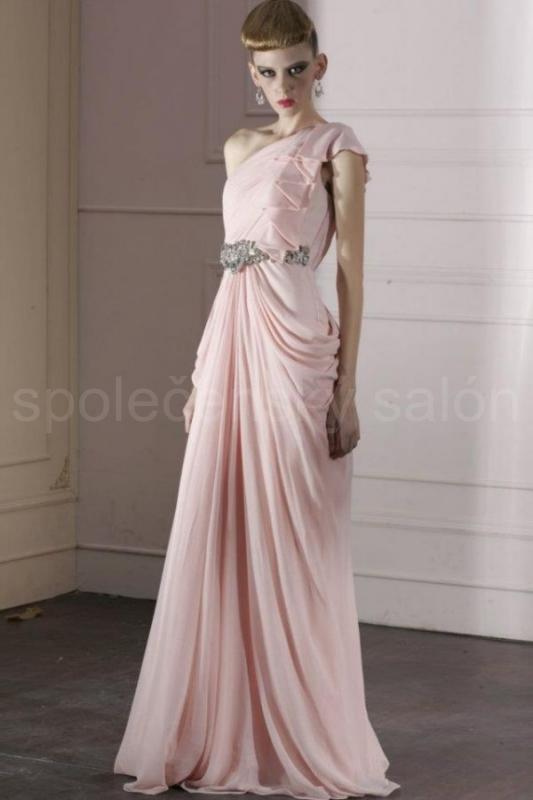 58883684ec9a Code plesové šaty šité na míru růžové 1133