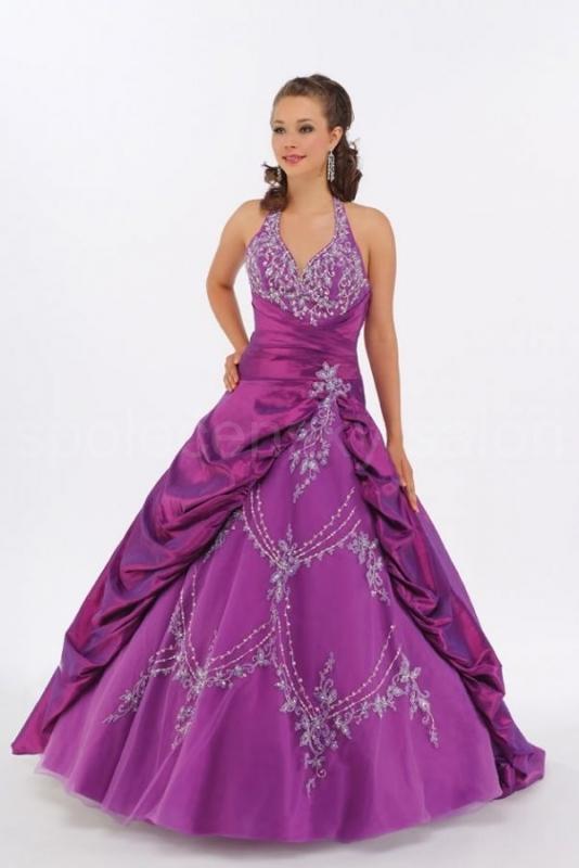 151eaac09bf fialové šaty