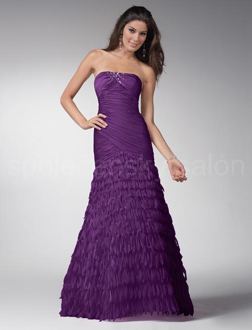 f4760ce20 plesové šaty šité na míru Papuo fialové